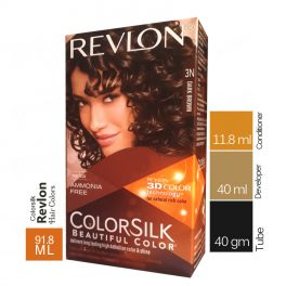 Revlon Soft Dark Brown Colorsilk 3N Hair Color
